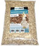 Buchenholzgranulat grob, Einstreu für Vögel  4,5KG