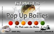 Klages  Pop Up Boilies 20mm - Mais - Gelb