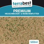 Premium Heuschrecken & Heimchenfutter 500ml