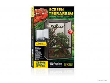 Exo Terra Screen Aluminium Terrarium  MEDIUM