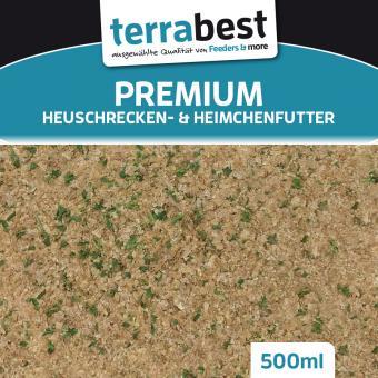 Heuschrecken & Heimchenfutter 500ml