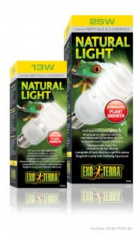 Exo Terra NATURAL LIGHT / VOLLSPEKTRUM-TAGESLICHTLAMPE 25Watt