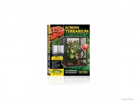 Exo Terra Screen Aluminium Terrarium small