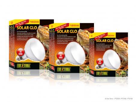 Exo Terra SOLAR GLO / SONNENLICHT SIMULIERENDE LAMPE 80 Watt