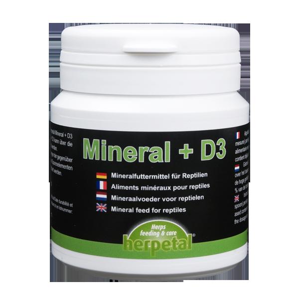 Herpetal Mineral & D3 100g