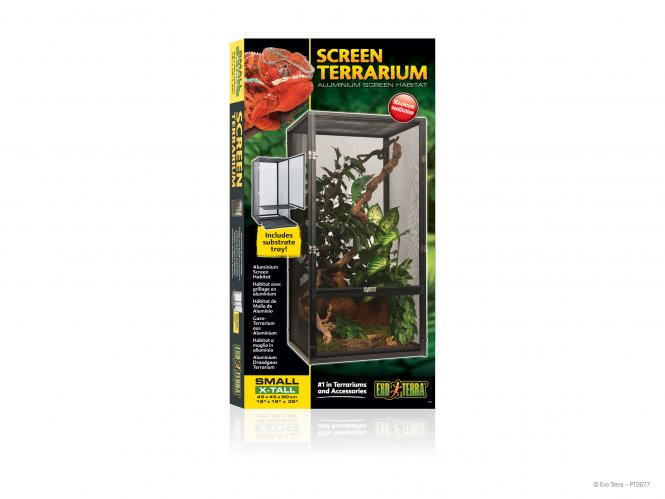 Exo Terra Screen Aluminium Terrarium Small X-Tall