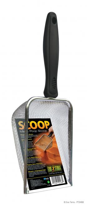 Exo Terra Scoop -Metallschaufel Sandsieb