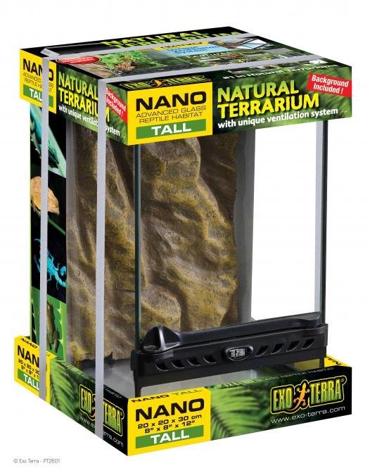 Exo Terra Nano Terrarium 20x20x20cm