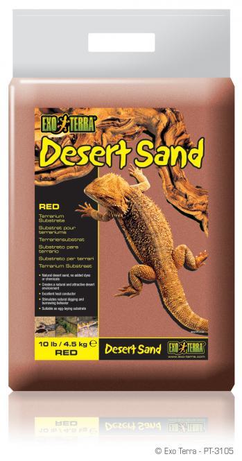 Exo Terra DESERT SAND / FÜR WÜSTENTERRARIEN ROT
