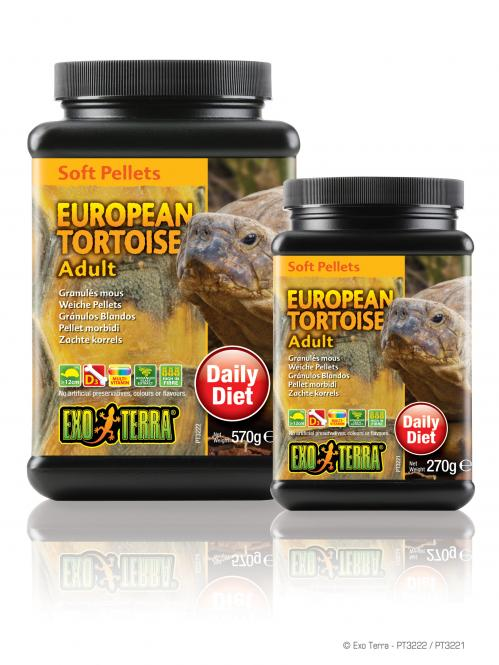 Exo Terra Erwachsene Landschildkröten Pellets 570g
