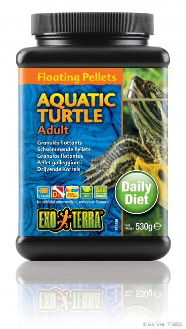 Exo Terra Erwachsene Wasserschildkröte Pellets 530g